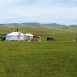 Ger camp Central Mongolia