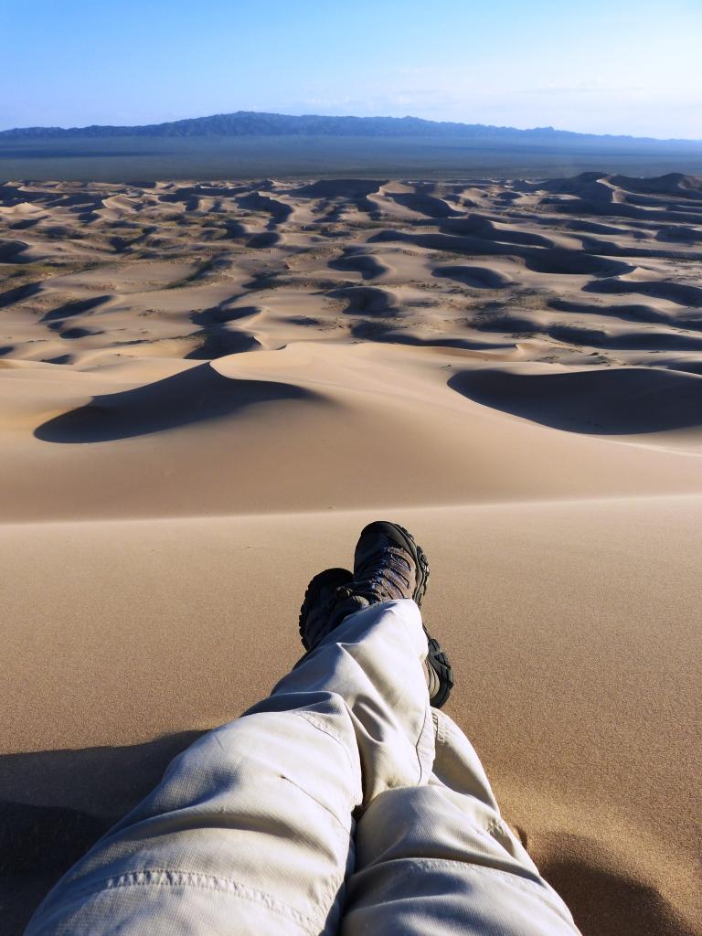 Giant Dunes Gobi Desert