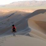 Khongoryn Els dunes Gobi Desert