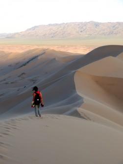 The Gobi Desert, Mongolia, July 2014