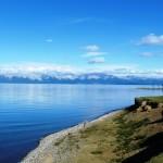 Lake Khuvsgul views Northern Mongolia