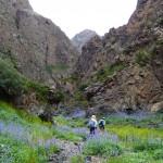 Yolyn Am hiking