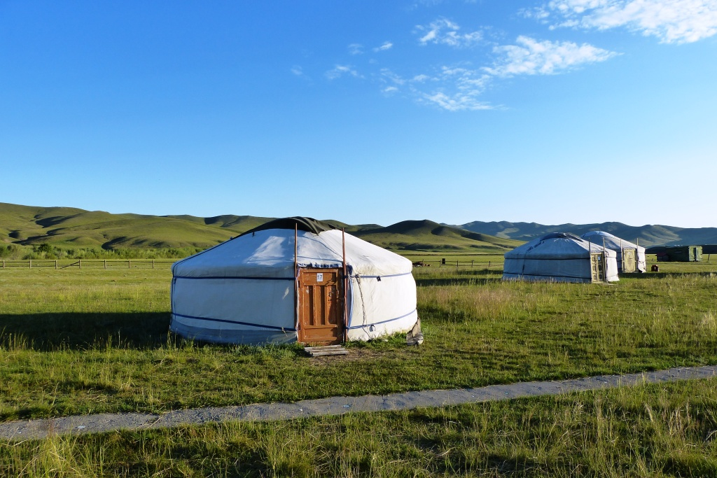 Yurt camps Central Mongolia