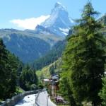 Day 10 Arriving Zermatt