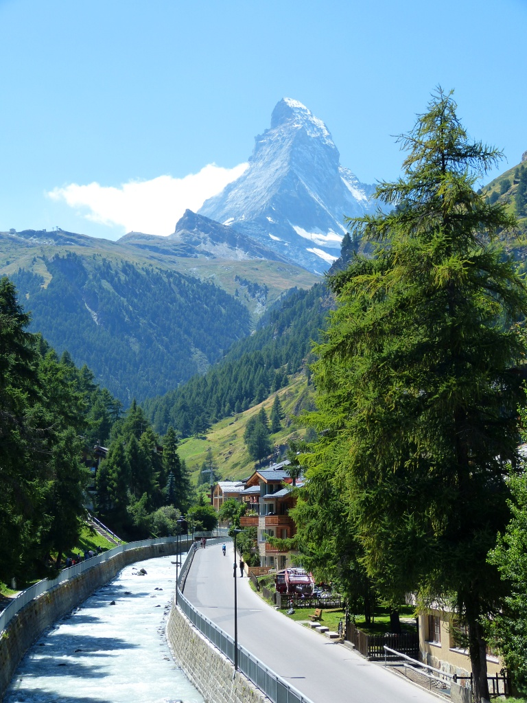 Day 10 Arriving Zermatt