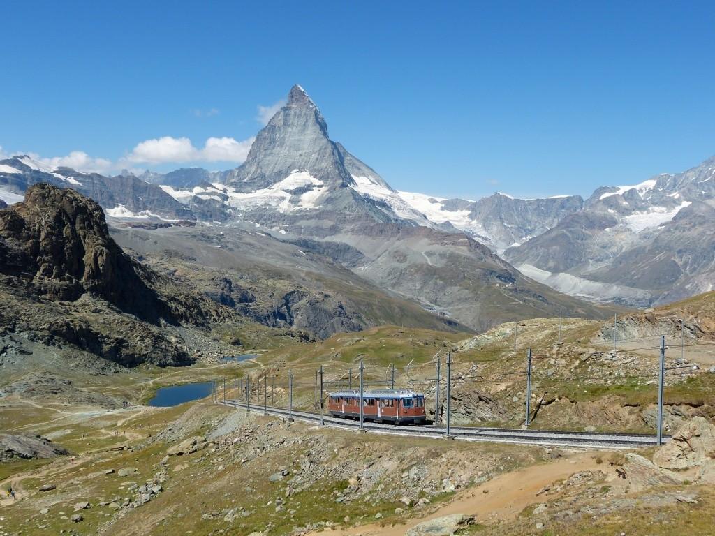 Gornergrat railway Matterhorn