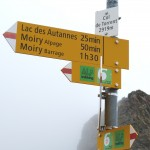 Haute Route signs Day 6