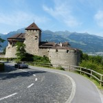 Liechtenstein royal castle Vaduz
