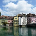 Views Lucerne old town