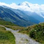 Day 1 Views Mt Blanc