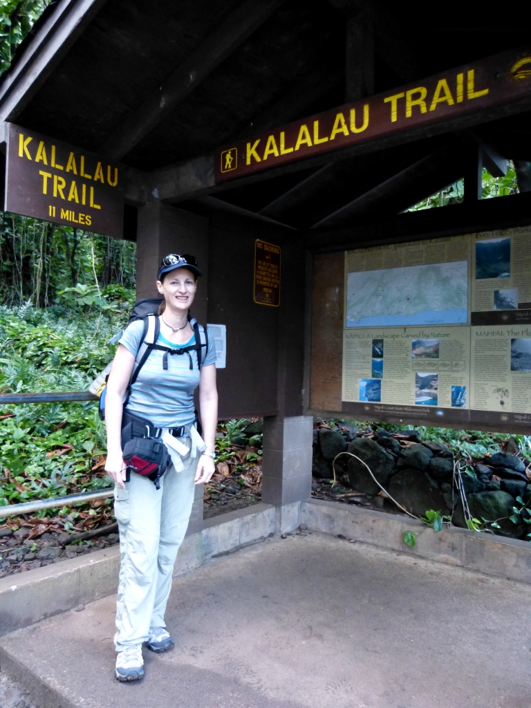 Starting Kalalau Trail