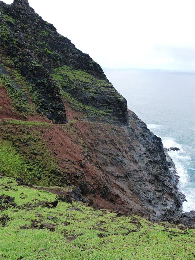 Cliffside trail