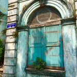 Colonial dilapidation Yangon