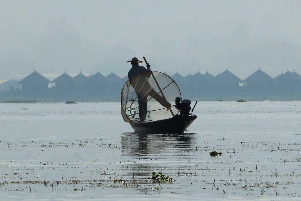 Traditional Fisherman Inle Lake