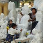Polishing Buddhas