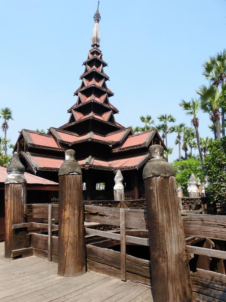 Teak temple Inwa