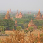 Temple strewn plains Bagan