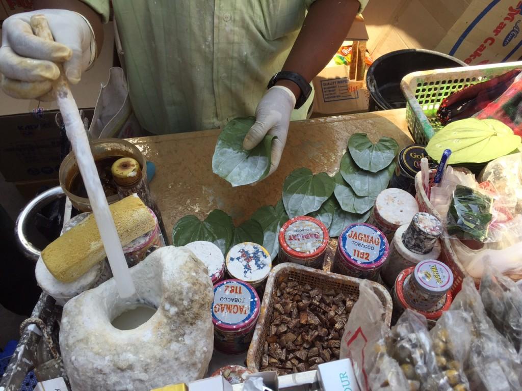 Making betel quid
