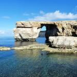 Gozo Island cliffs