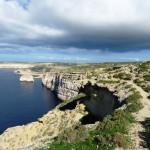 Hiking Gozo cliffs
