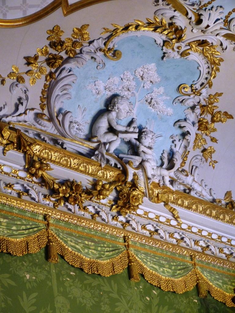 Palazzo Parisio stucco detail