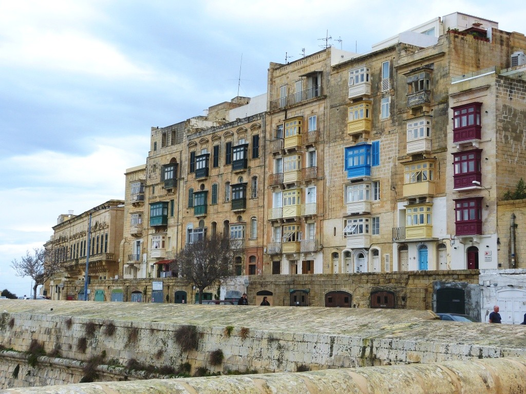 Valletta harbourfront