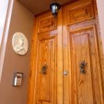 Virgin Mary guards the doorbell