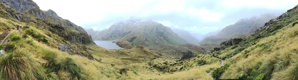 Descent into Routeburn Valley