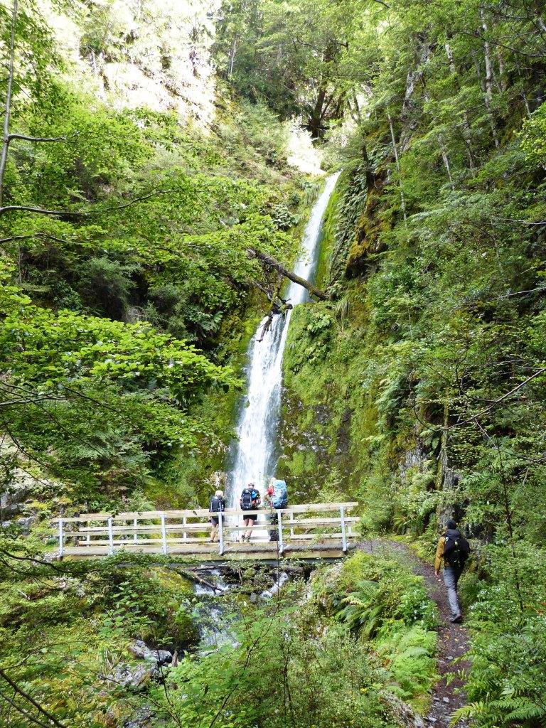Waterfall Greenstone track