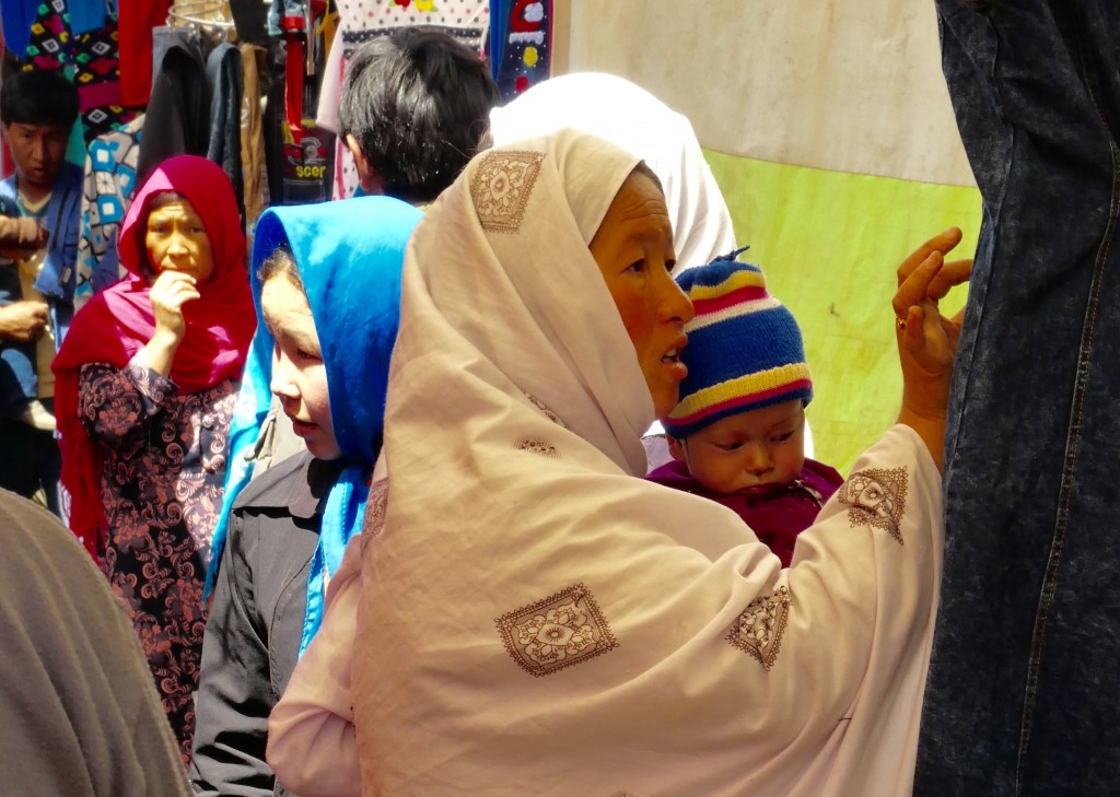 Women shopping Bamiyan