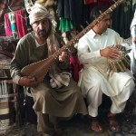 Man playing dutar Herat