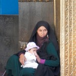 Woman and child Mazare Sharif