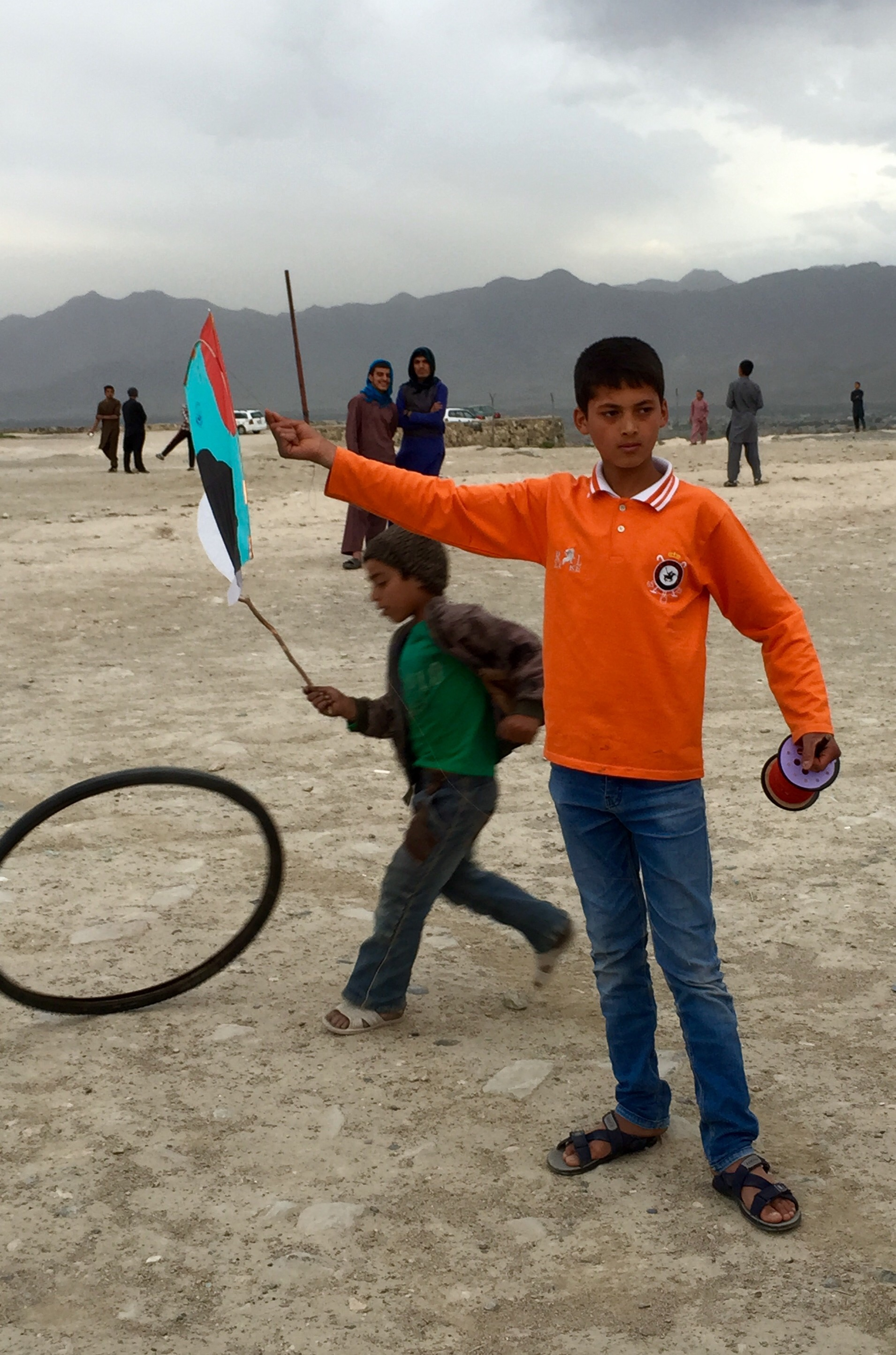 Kite flying Kabul