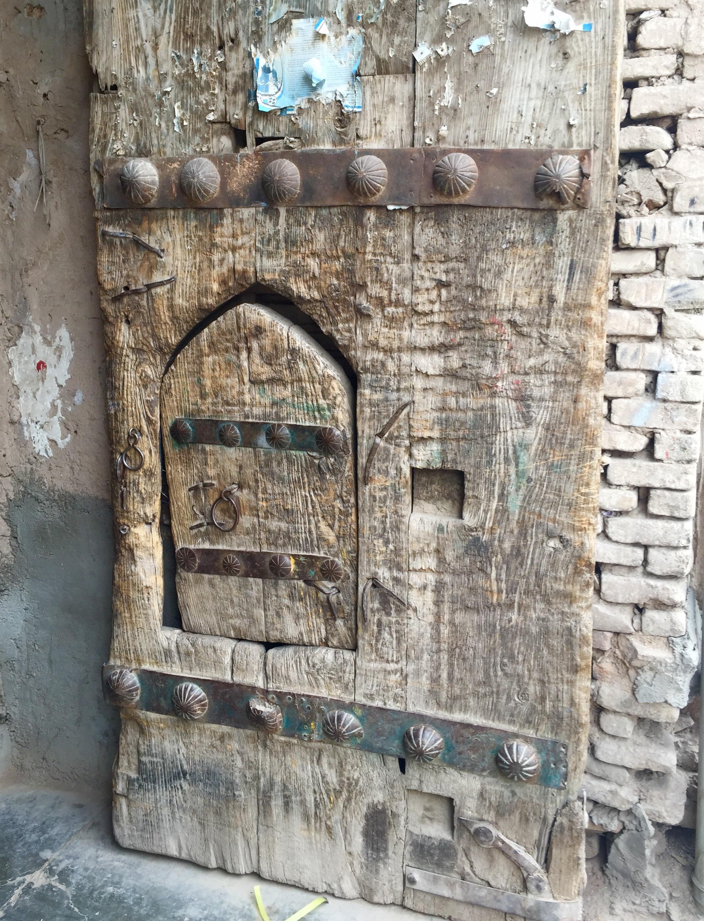 Old door Herat