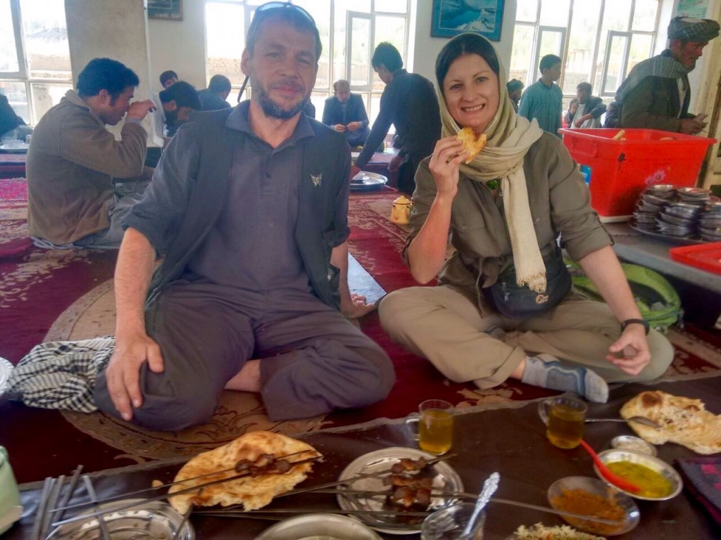 Chaikhana lunch Bamiyan
