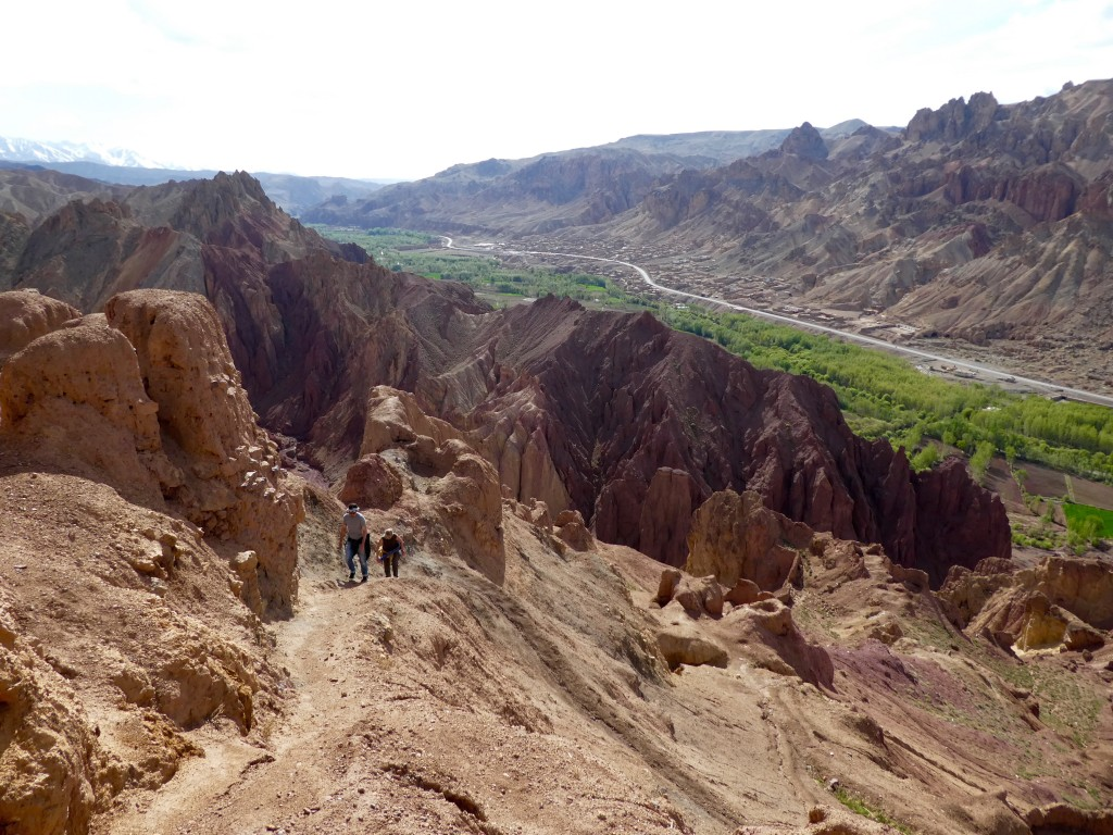 Hiking Bamiyan