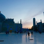 Sunset Mazare Sharif