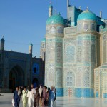 Worshippers Hazrat Ali shrine