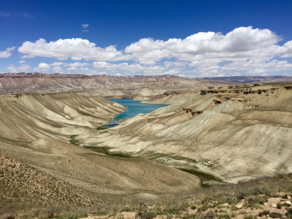 First views Band e Amir lakes