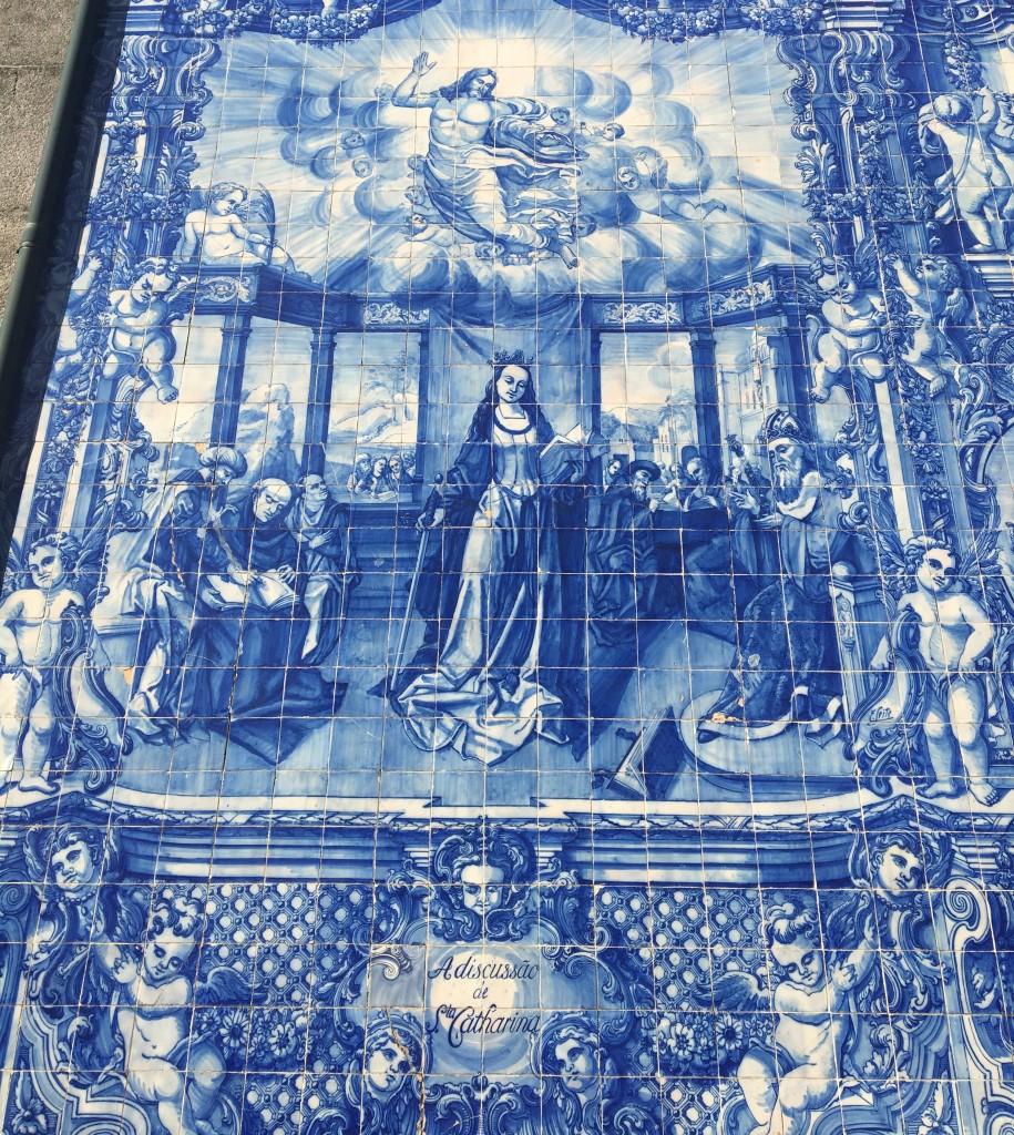 Azulejo details