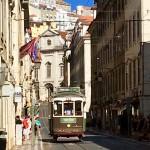 Old trams Lisbon