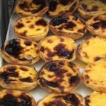 Luscious custard tarts