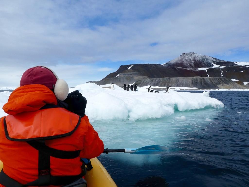 Kayaking Christmas Day