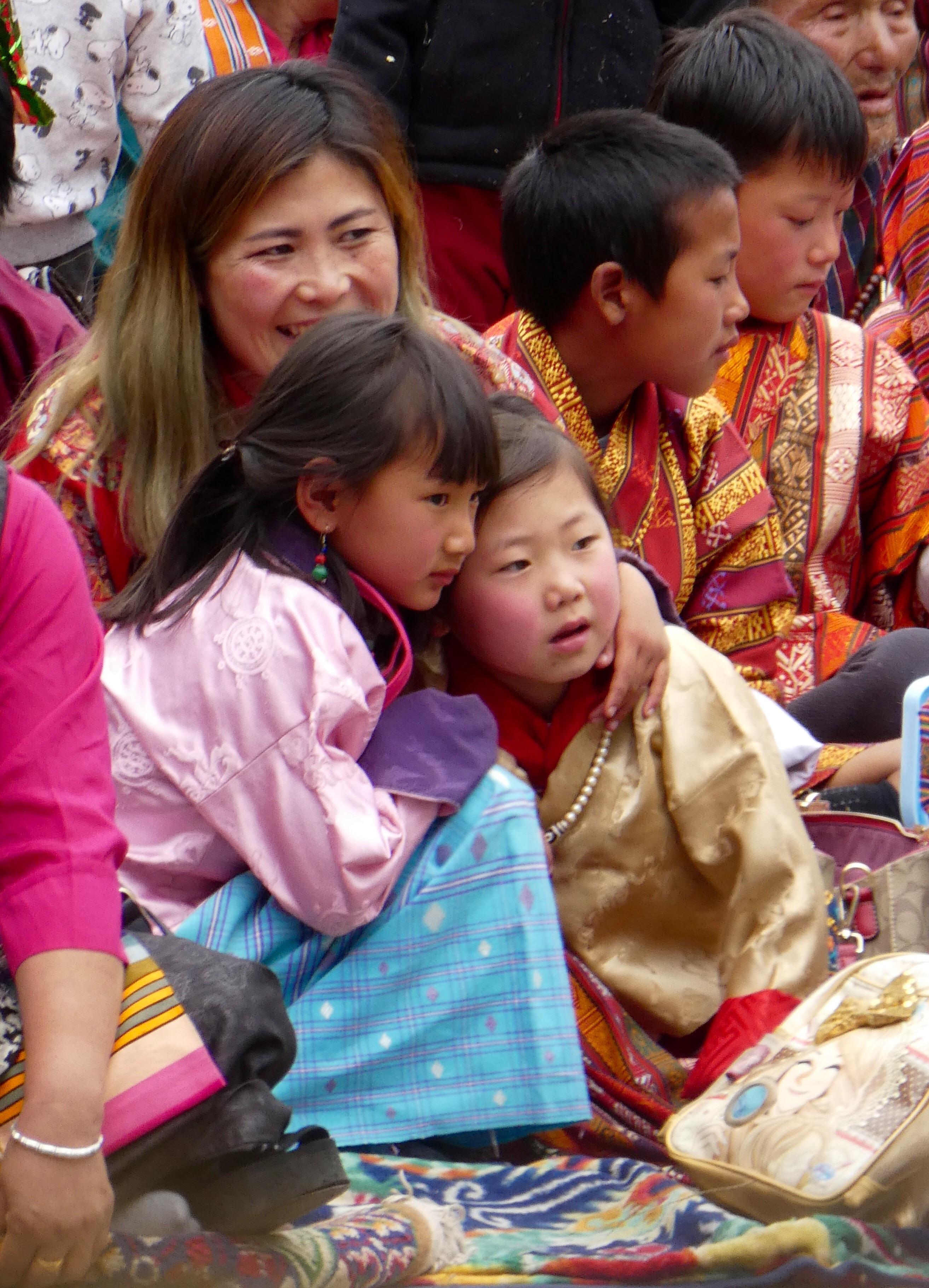 Sisters Bhutan
