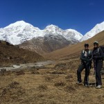 Views Jichyu Drake and Tsering Kang Peaks