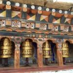 Prayer wheels Bhutan