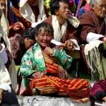 Old Bhutanese Woman