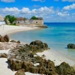 Turquoise waters Ilha da Moçambique