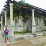 Crumbling colonial history