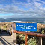 The Oceans meet at Cape Leeuwin